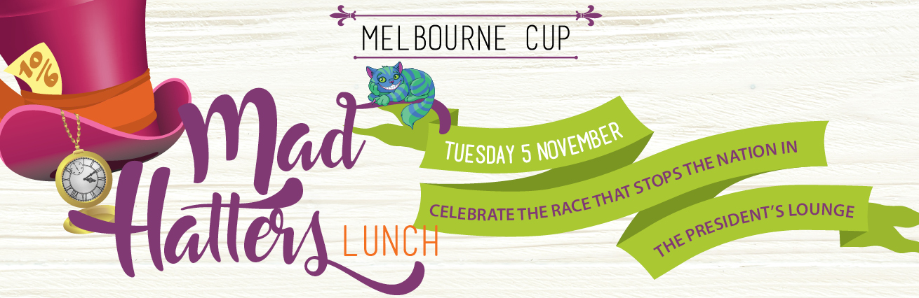 Melbourne Cup 2019 - Mad Hatters Lunch