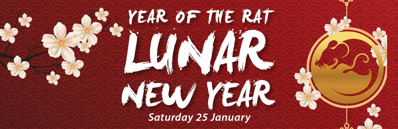 LUNAR NEW YEAR 2020 - YEAR OF THE RAT