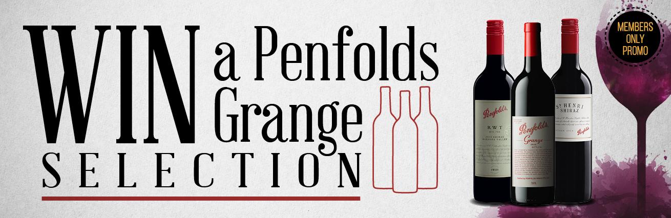 WIN a Penfolds Grange Selection